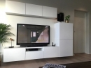 modern fehér nappali bútor